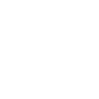 White Backhoe Icon